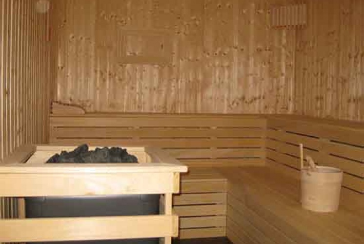 Sauna samt Wellnessoase